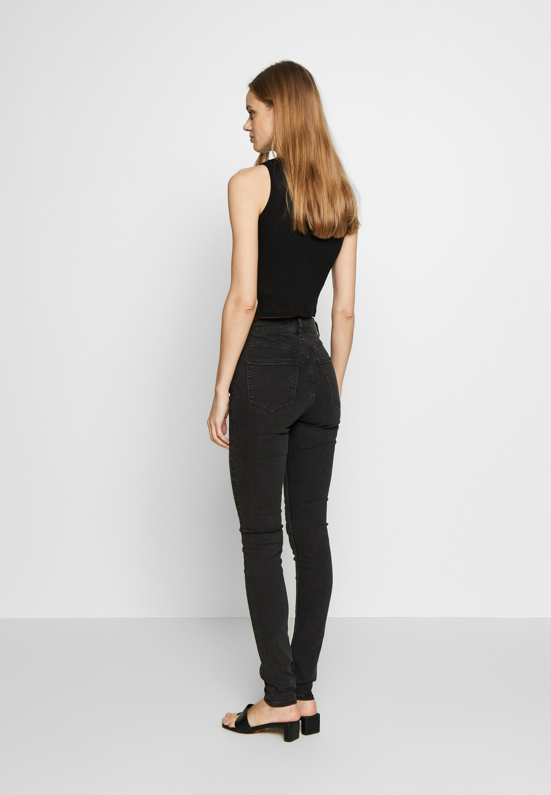 Weekday THURSDAY  - Jeansy Slim Fit - tuned black