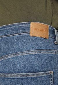 Weekday - BODY HIGH BLEECKER - Jeans Skinny Fit - bleecker blue - 5
