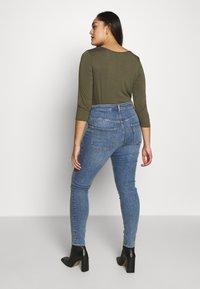 Weekday - BODY HIGH BLEECKER - Jeans Skinny Fit - bleecker blue - 2