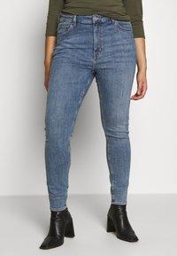 Weekday - BODY HIGH BLEECKER - Jeans Skinny Fit - bleecker blue - 0