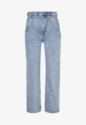 FRAME PEN - Relaxed fit jeans - pen blue
