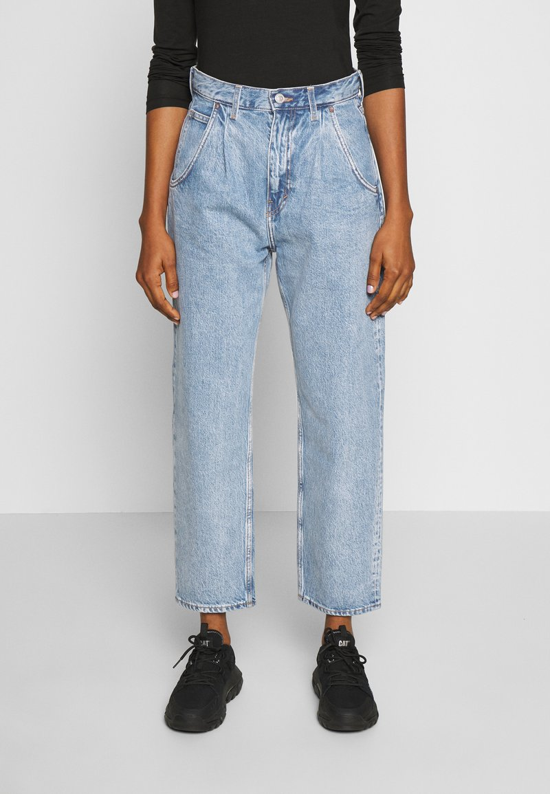 Weekday - FRAME PEN - Relaxed fit jeans - pen blue