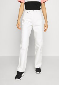 Weekday - ROWE  - Relaxed fit jeans - white - 0