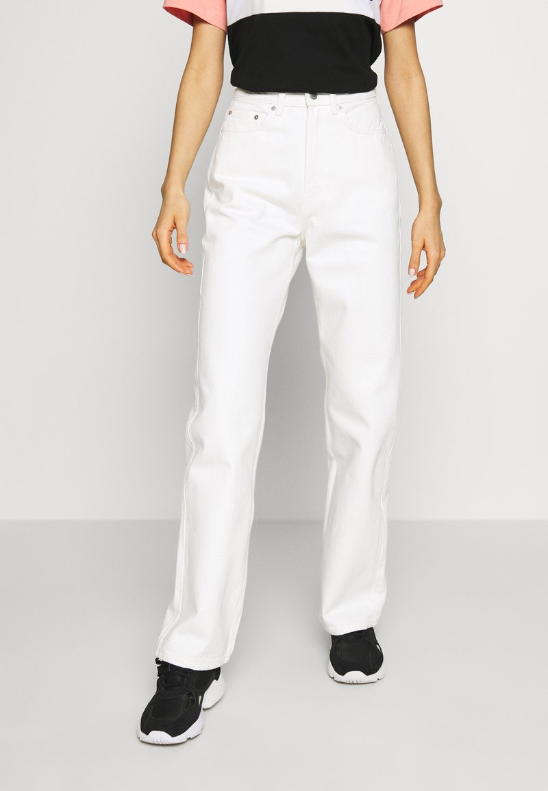 Weekday - ROWE  - Relaxed fit jeans - white