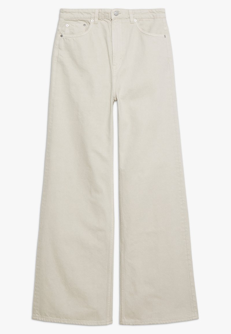 Weekday - ACE - Flared jeans - offwhite