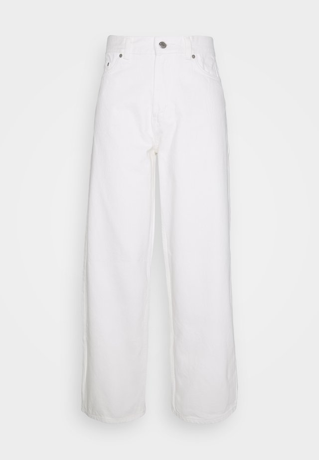 RAIL COLD - Straight leg jeans - white