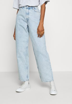 RAIL COLD - Jeans Straight Leg - cold blue wash
