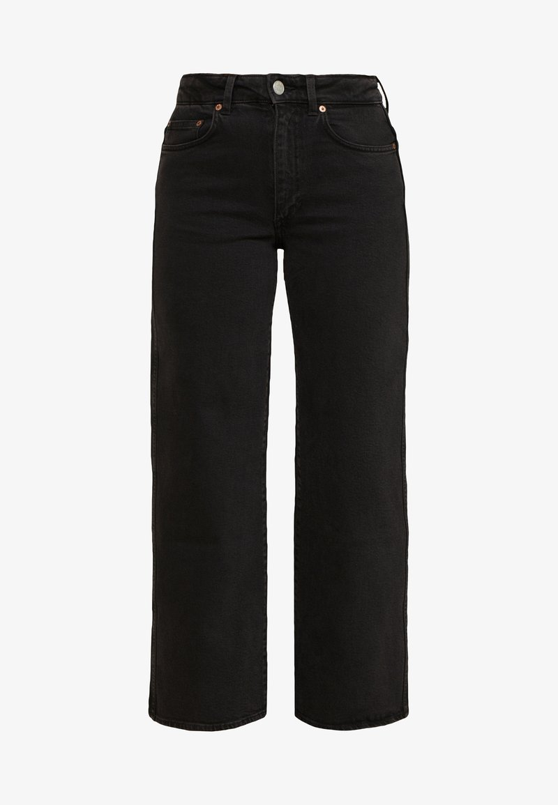 Weekday - Džíny Relaxed Fit - tuned black