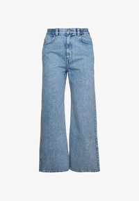 Weekday - LINEAR TROUSERS - Jeans Straight Leg - summer blue - 1