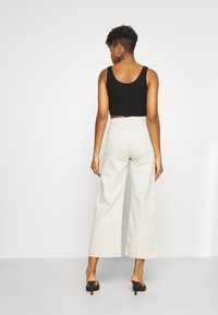 Weekday - LINEAR TROUSERS - Jeans straight leg - canvas - 2