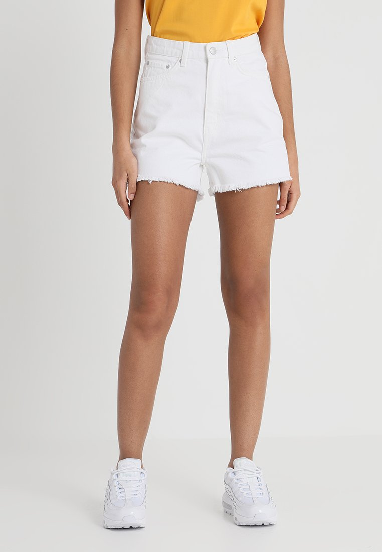 Weekday - ROW - Jeans Shorts - white