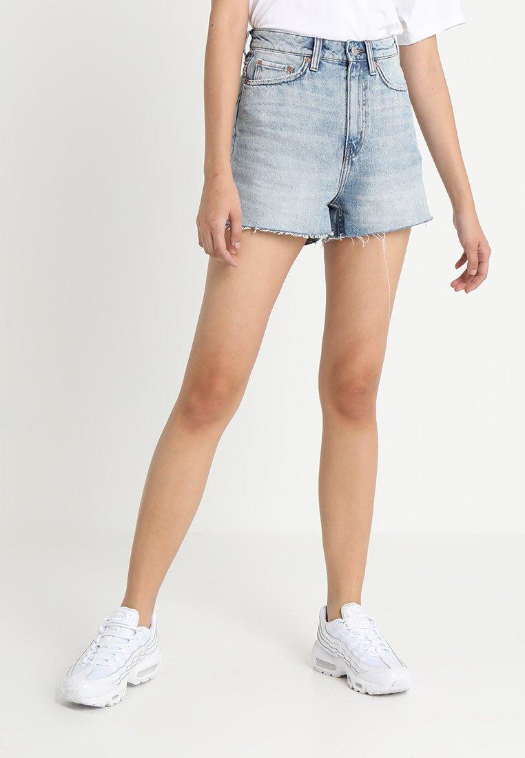Weekday - ROW - Jeans Shorts - springblue