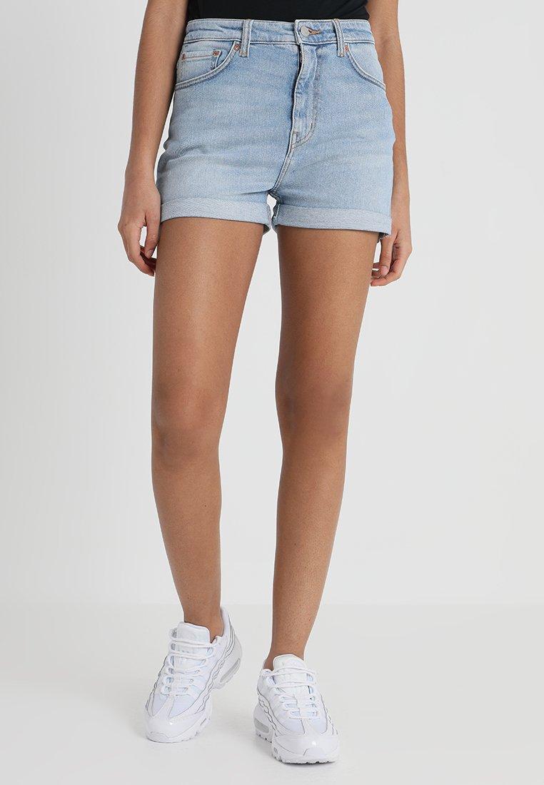 Weekday - NEWDAY - Denim shorts - swish blue
