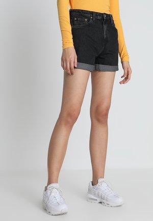 Denim shorts - trotter black