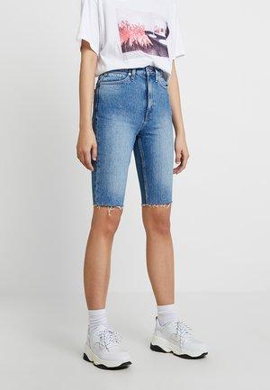 EAST - Denim shorts - marfa blue