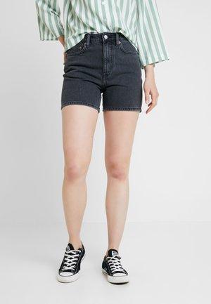 EYA - Shorts di jeans - night black