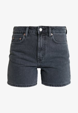 EYA - Denim shorts - night black