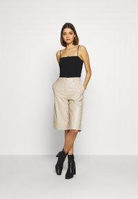 Weekday - SANNA - Shorts - beige - 1