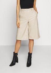 Weekday - SANNA - Shorts - beige - 0