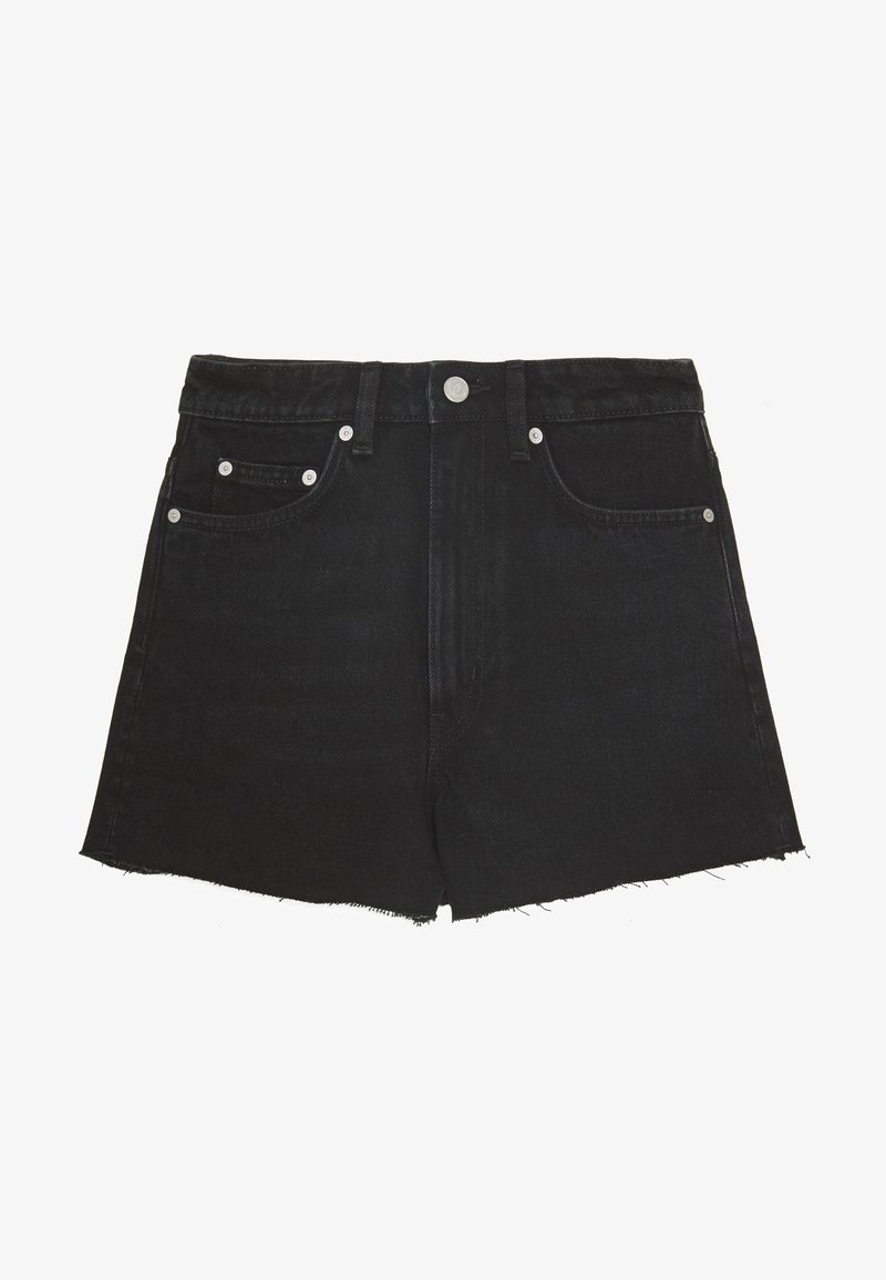 Weekday - ROWE  - Jeansshorts - echo black