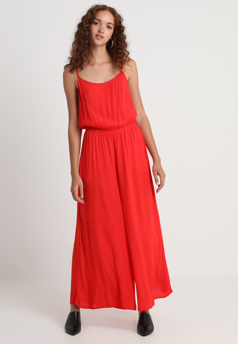 Weekday - ELORA  - Jumpsuit - solid red
