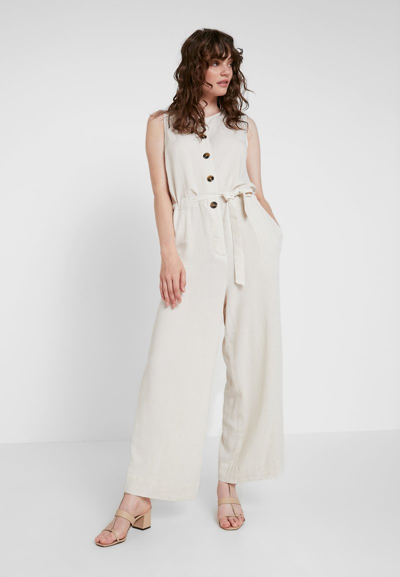 Weekday - THELMA  - Tuta jumpsuit - off white