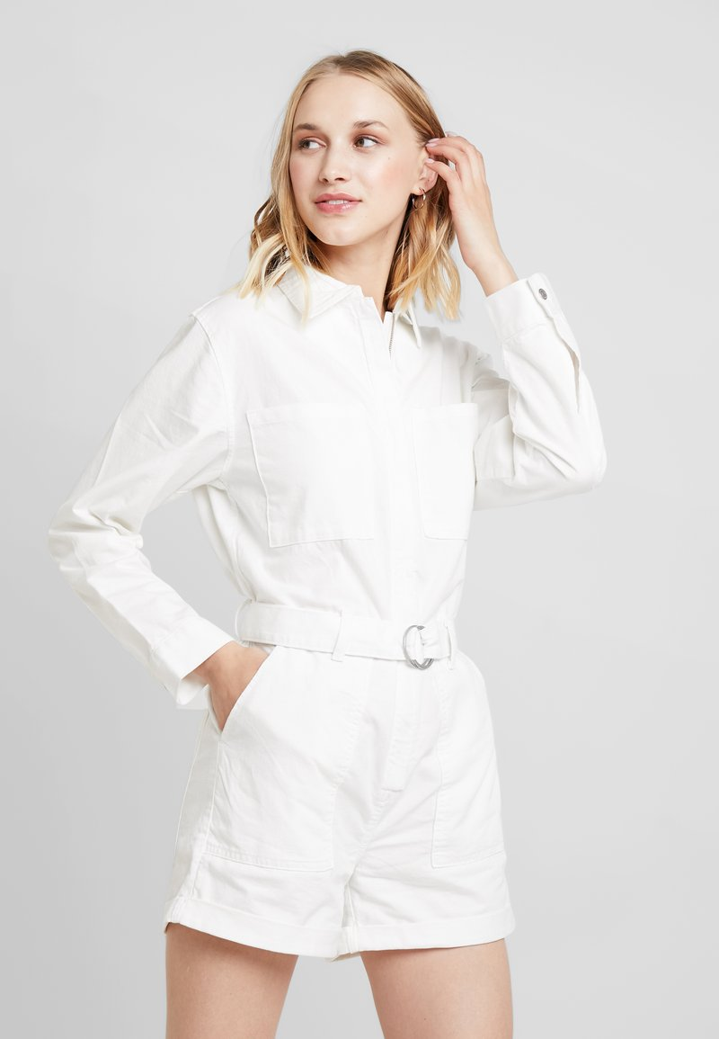 Weekday - BAKER BOILER - Jumpsuit - white