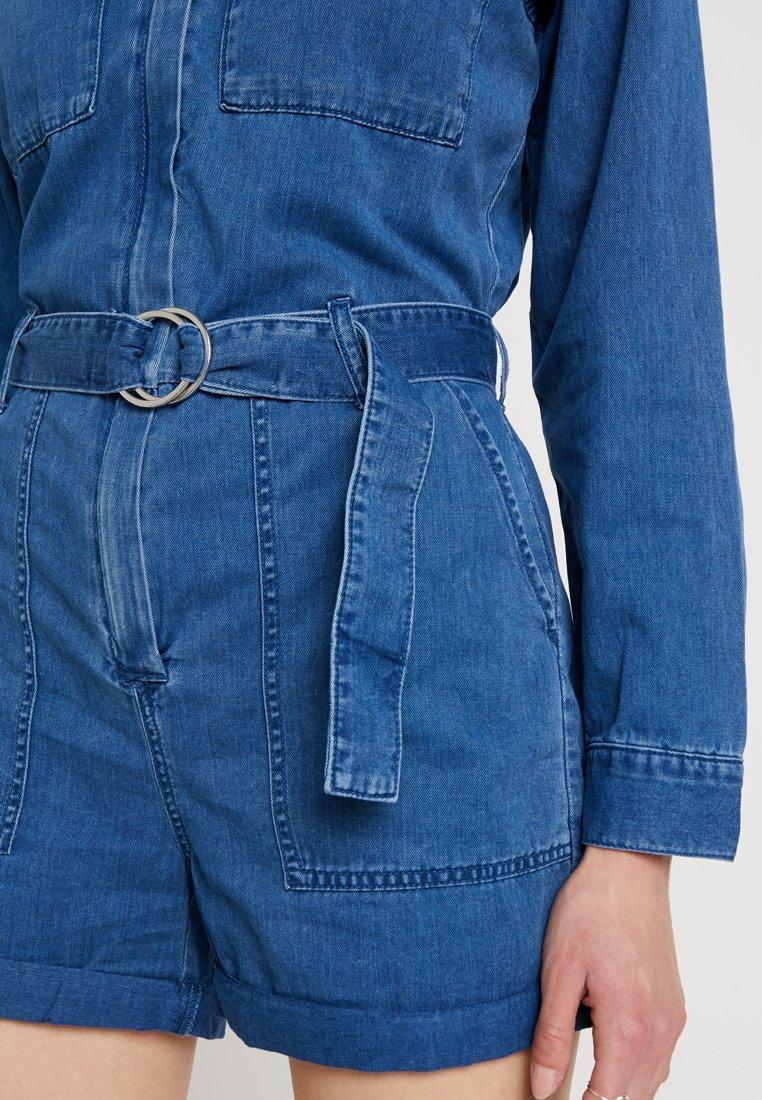 Weekday BAKER BOILER - Jumpsuit porto blue