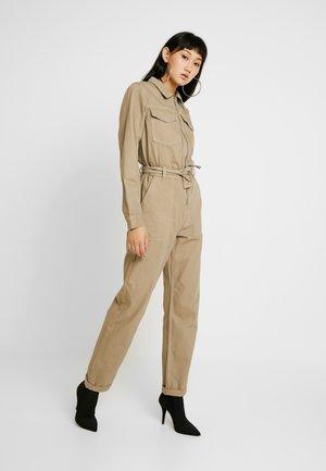 ALDAN BOILER - Overall / Jumpsuit - beige