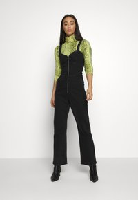 Weekday - AUGUSTA JUMPSUIT - Overal - tuned black - 0