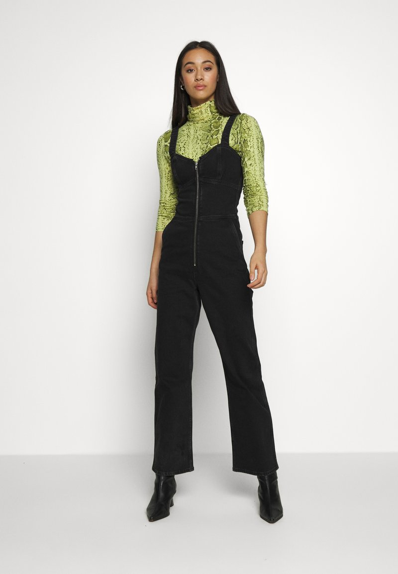 Weekday - AUGUSTA JUMPSUIT - Overal - tuned black