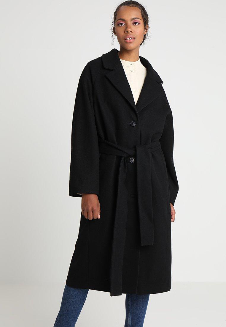 Weekday - VIVVI COAT - Wollmantel/klassischer Mantel - black