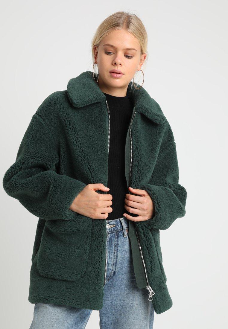 Weekday - FELICE - Zimní kabát - green