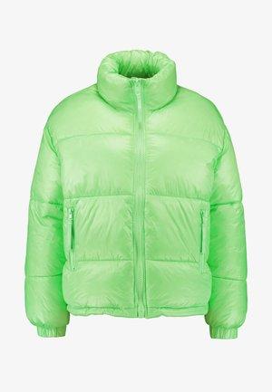 BENITA PUFFER JACKET - Winter jacket - neon green