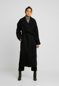 Weekday - LIA COAT - Classic coat - black - 0