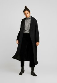 Weekday - LIA COAT - Classic coat - black - 1