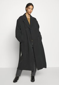 Weekday - KARLEE COAT - Trenchcoat - black - 0