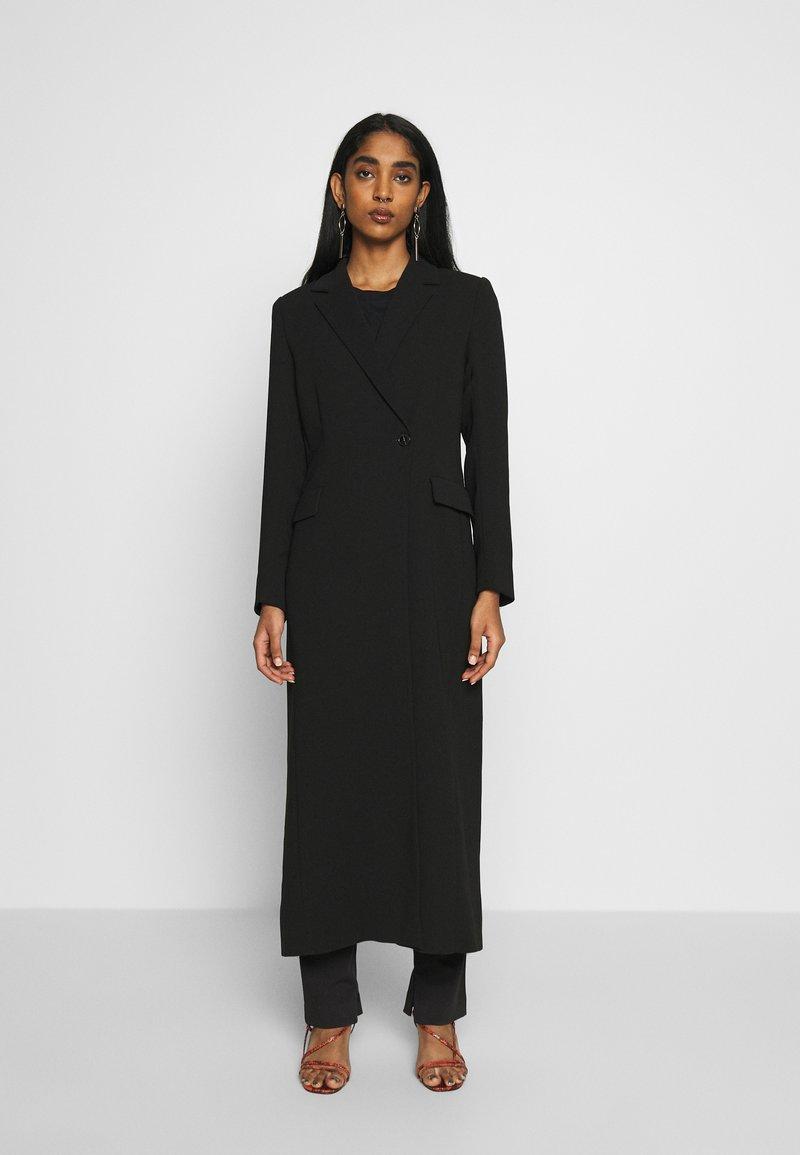 Weekday - LEXIE COAT - Classic coat - black