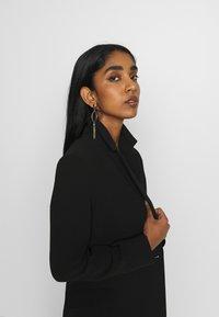 Weekday - LEXIE COAT - Classic coat - black - 4
