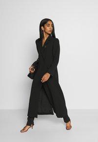 Weekday - LEXIE COAT - Classic coat - black - 1