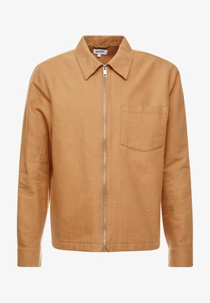 AHMED ZIP SHIRT - Overhemd - beige