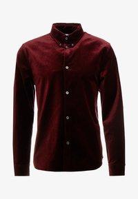 Weekday - LOA  SHIRT - Camisa - burgundy - 4