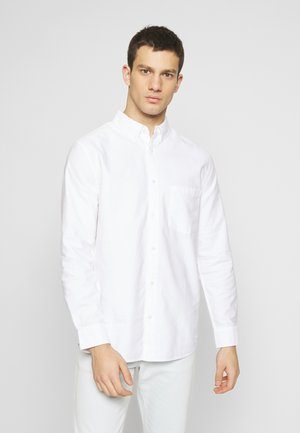 HENNING OXFORD SHIRT - Košile - white