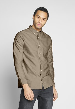 HENNING OXFORD SHIRT - Camicia - beige