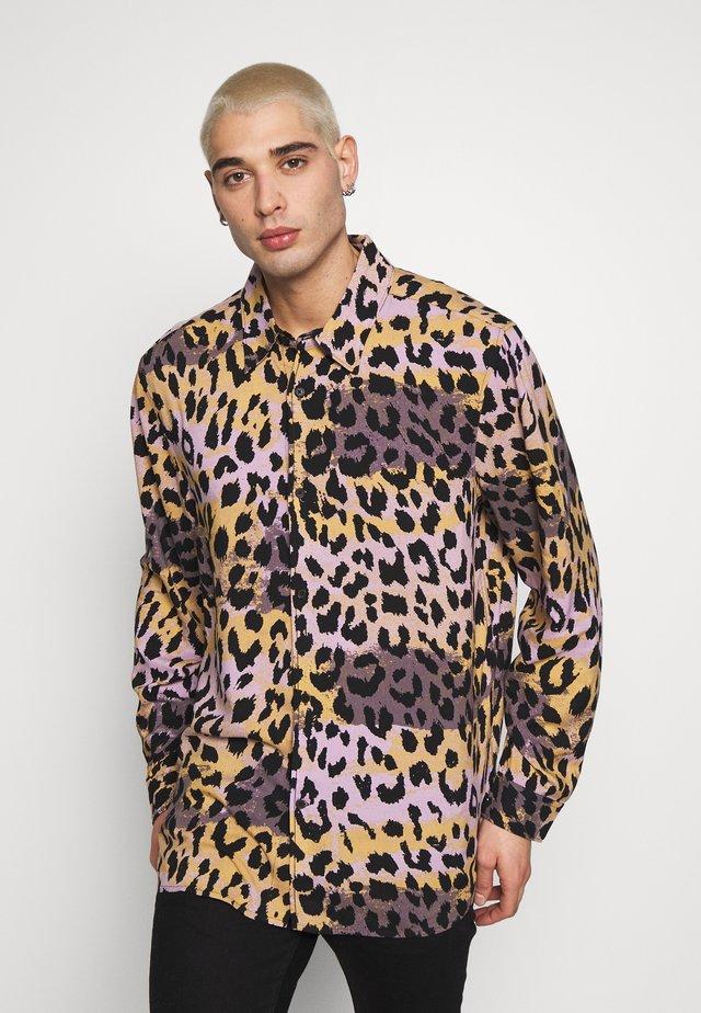 NINO LEOSPLASH SHIRT - Skjorte - black