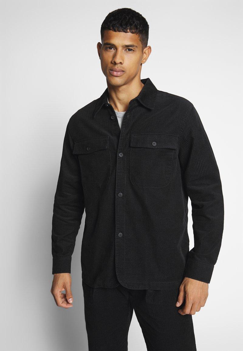 Weekday - DALTON - Camicia - black