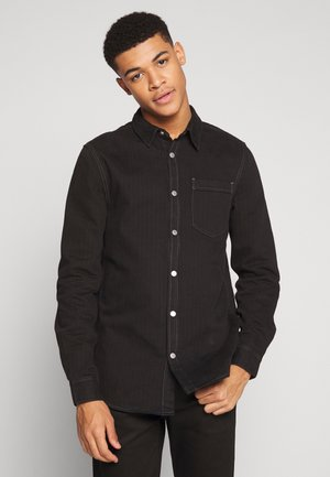 CLASS WASHED - Chemise - black dark