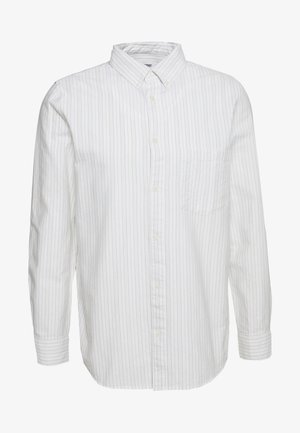 HENNING STRIPED SHIRT - Vapaa-ajan kauluspaita - white
