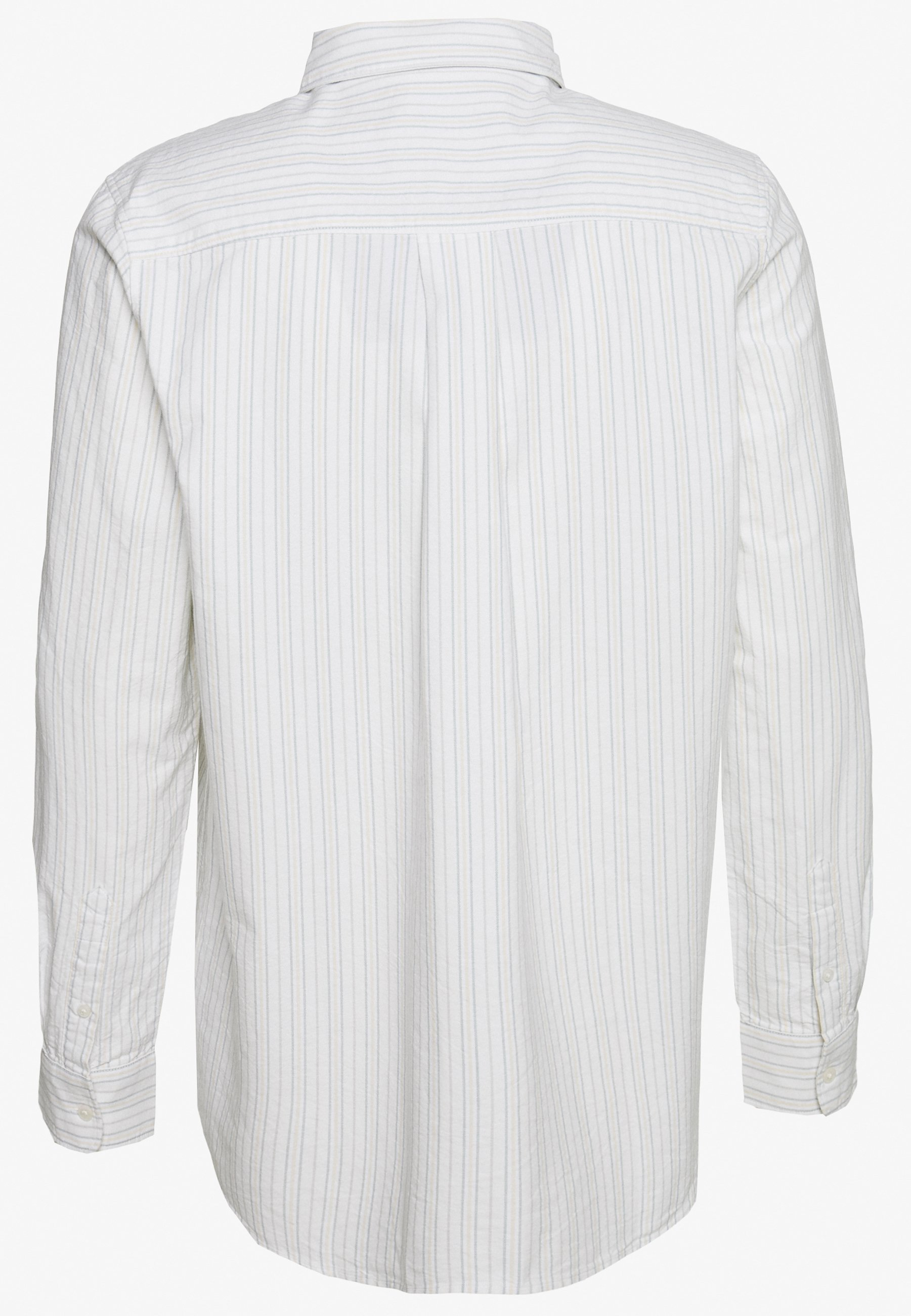 Weekday HENNING STRIPED SHIRT - Skjorta - white