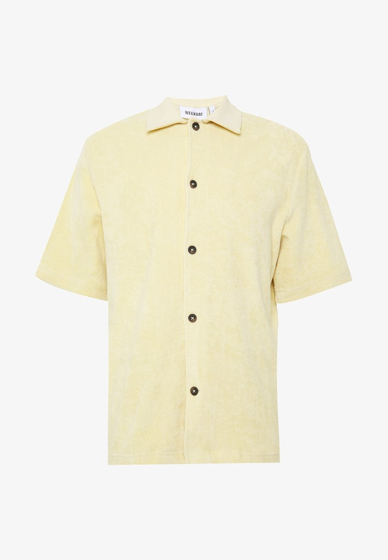 Weekday - GILBERT SHORTSLEEVE SHIRT - Chemise - beige